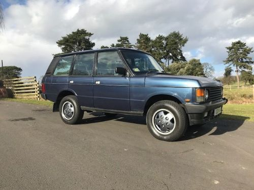 *** SOLD *** Range Rover Classic 3.9 Vogue EFI 1994